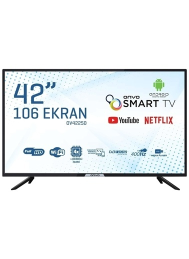 Onvo Tv Ov42250 42''Smart Led Tv Renkli